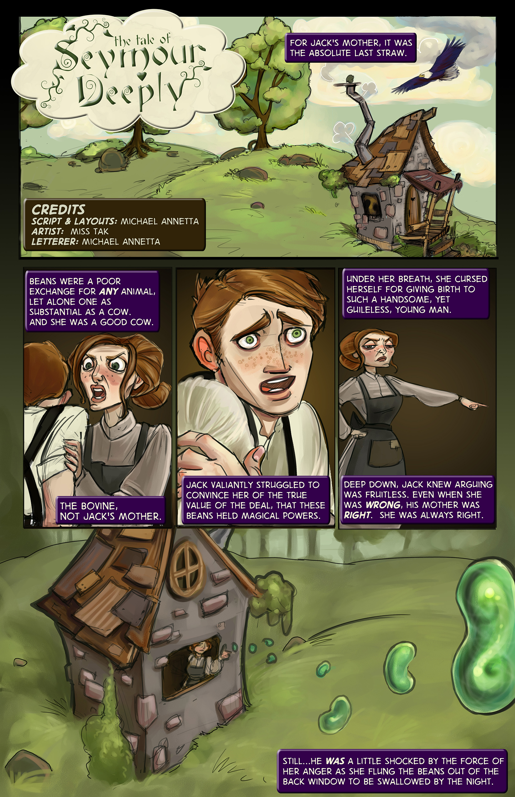 The Tale of Seymour Deeply - Page 1