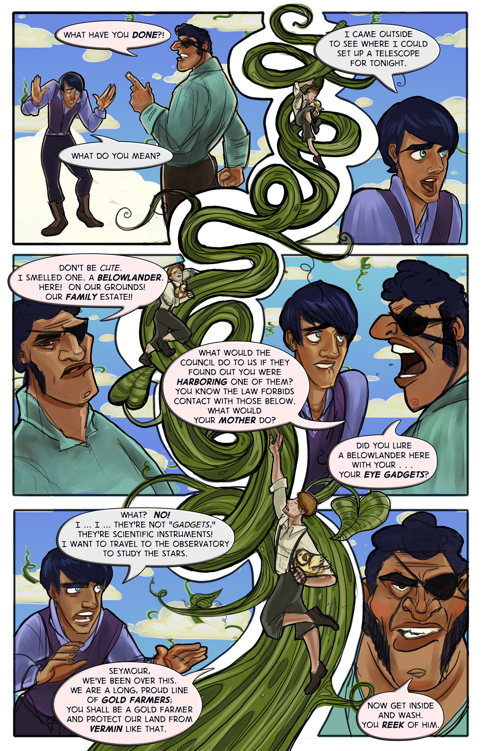 The Tale of Seymour Deeply - Page 5