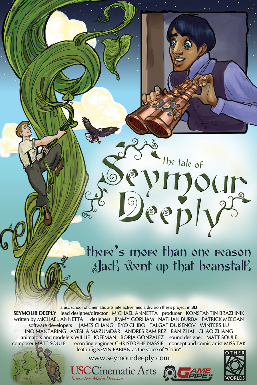Seymour Deeply Poster